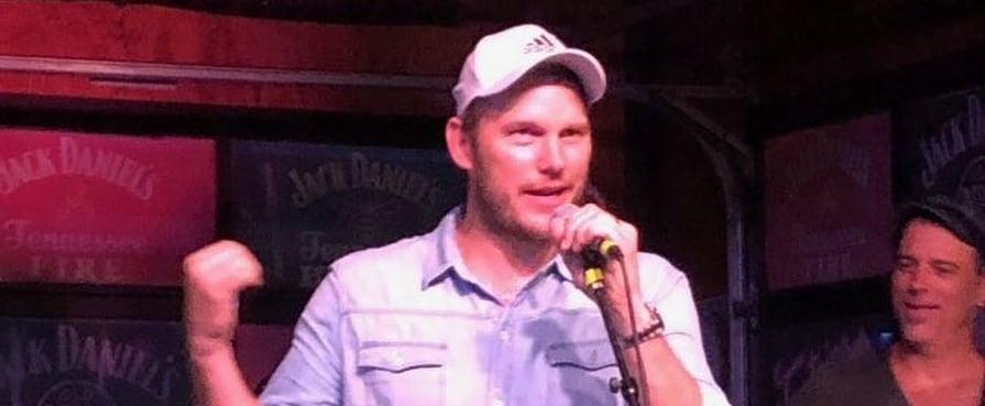 Chris Pratt Sings Country Music at Nashville Bars July 2019
