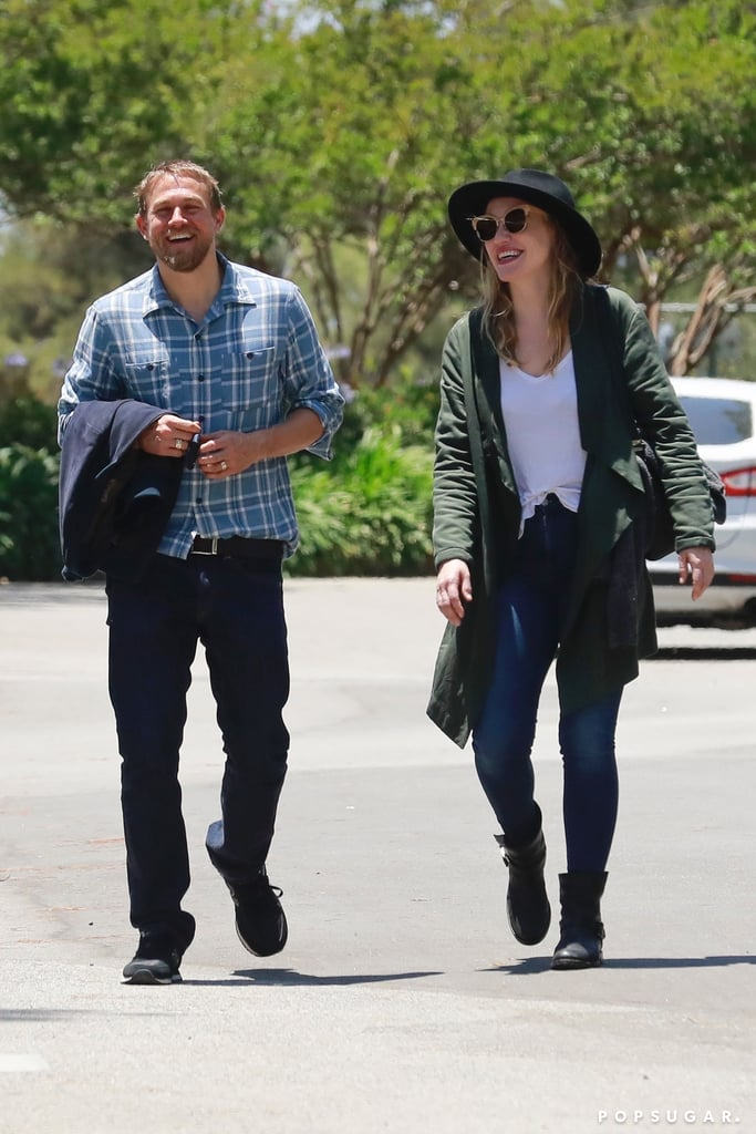 Charlie Hunnam And Morgana McNelis Pictures In LA June ...