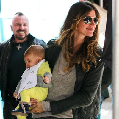Gisele Bundchen and Tom Brady in NYC With Kids   Pictures
