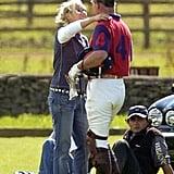Zara Tindall and Prince Charles