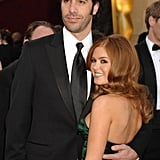 Isla Fisher and Sacha Baron Cohen made a lovely pair on the red carpet.