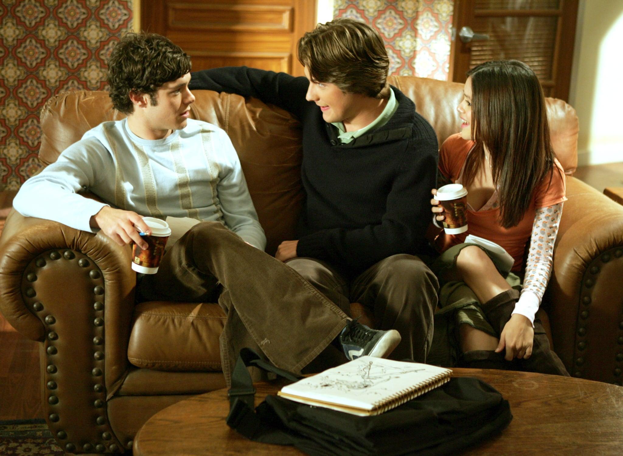 THE O.C., Adam Brody, Michael Cassidy, Rachel Bilson, 'The Second Chance', (Season 2, ep. #211), 2003-2007.  WB / Courtesy: Everett Collection
