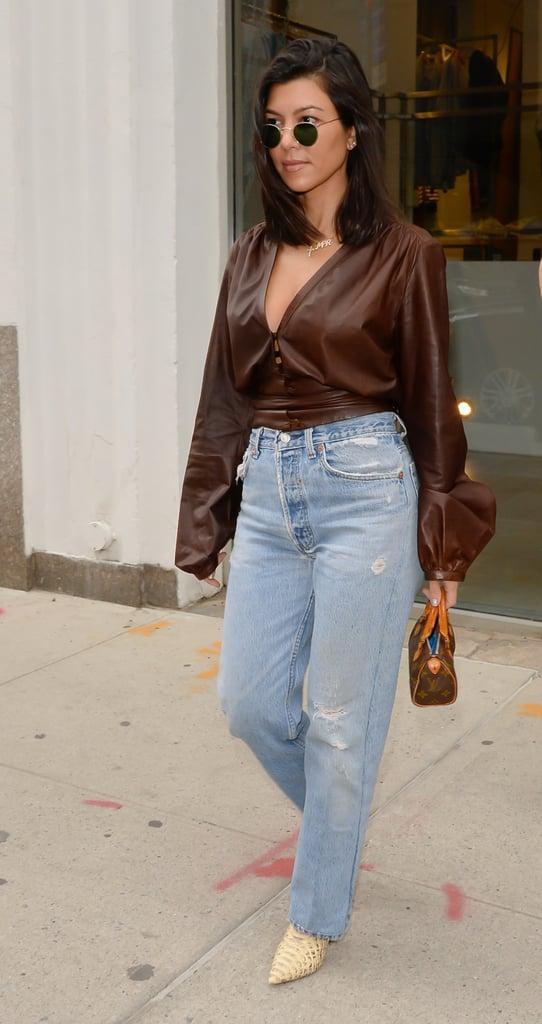 How to Wear Jeans: Kourtney Kardashian