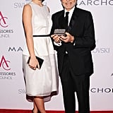 Olivia Wilde and Vince Camuto