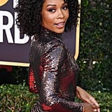 Zuri Hall at the 2020 Golden Globes