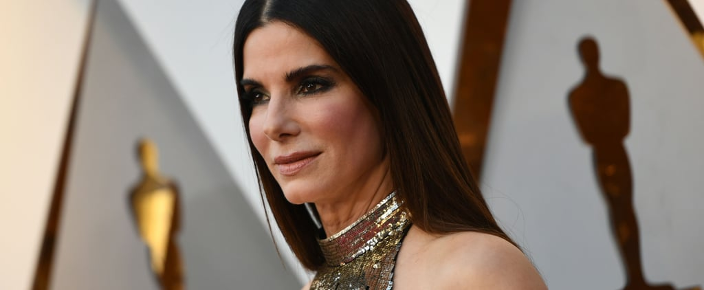 The Sweet Reason Sandra Bullock Cried When She Met the Black Panther Cast at the Oscars