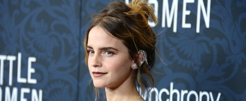 Emma Watson Wears a Sustainable Emilia Wickstead 2-Piece Set