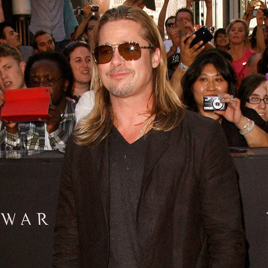 Brad Pitt Wants to Work With Selena Gomez