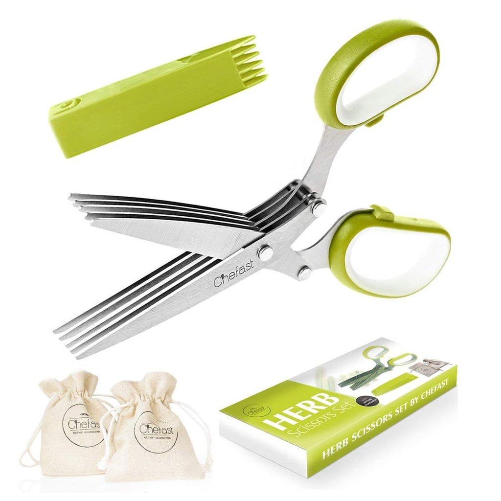 Chefast Herb Scissors Set Multipurpose Cutting Shears
