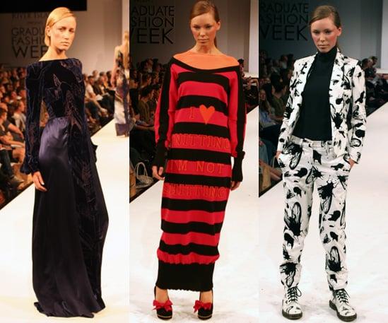 Photos of the Kingston University BA Fashion Graduate Show