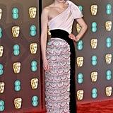 Eleanor Tomlinson at the 2019 BAFTA Awards