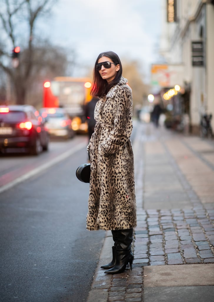 Take a Walk on the Wild Side in an Animal-Print Coat