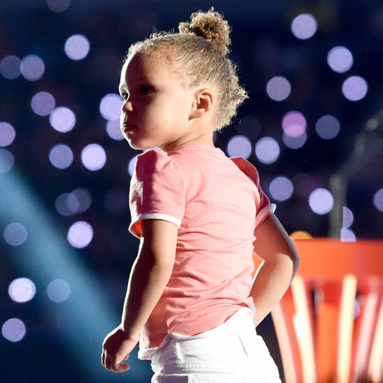 Riley Curry at Steph Curry's NBA MVP Press Conference 2016
