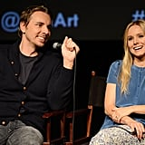 Dax Shepard took the microphone at the screening of Hit and Run in LA.