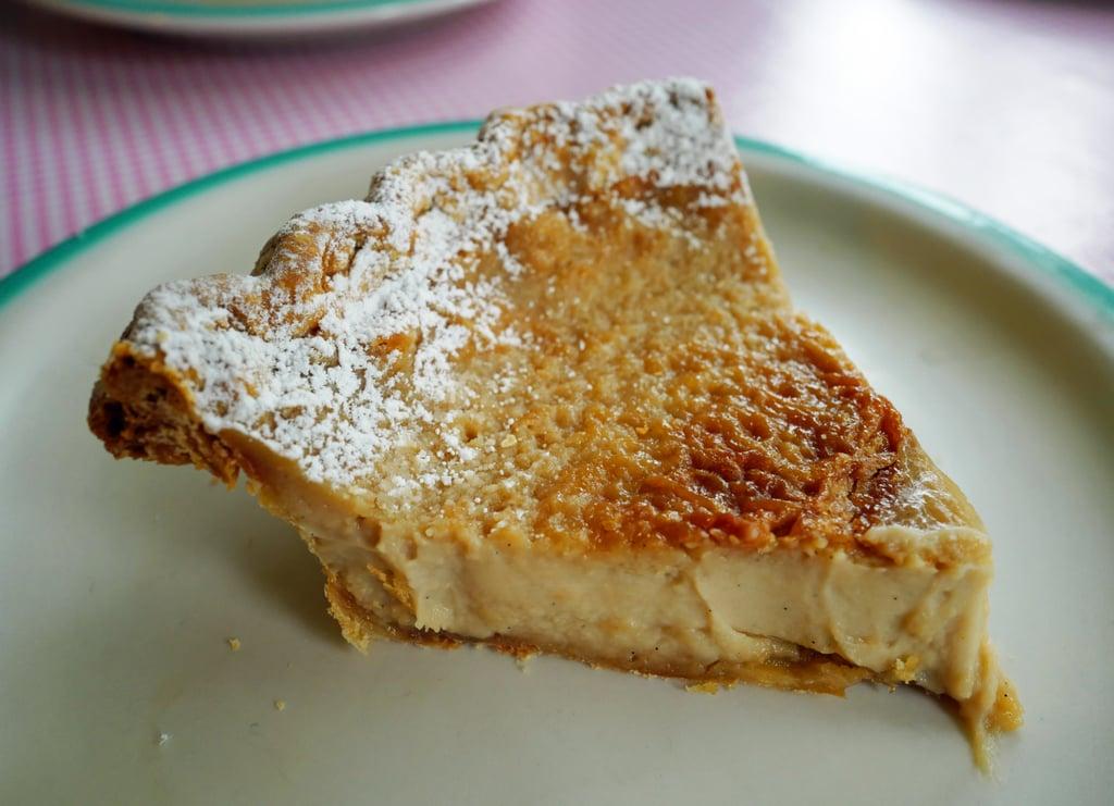 Indiana: Hoosier Sugar Cream Pie