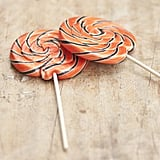 Sophia Victoria Joy Giant Swirly Halloween Lollipops