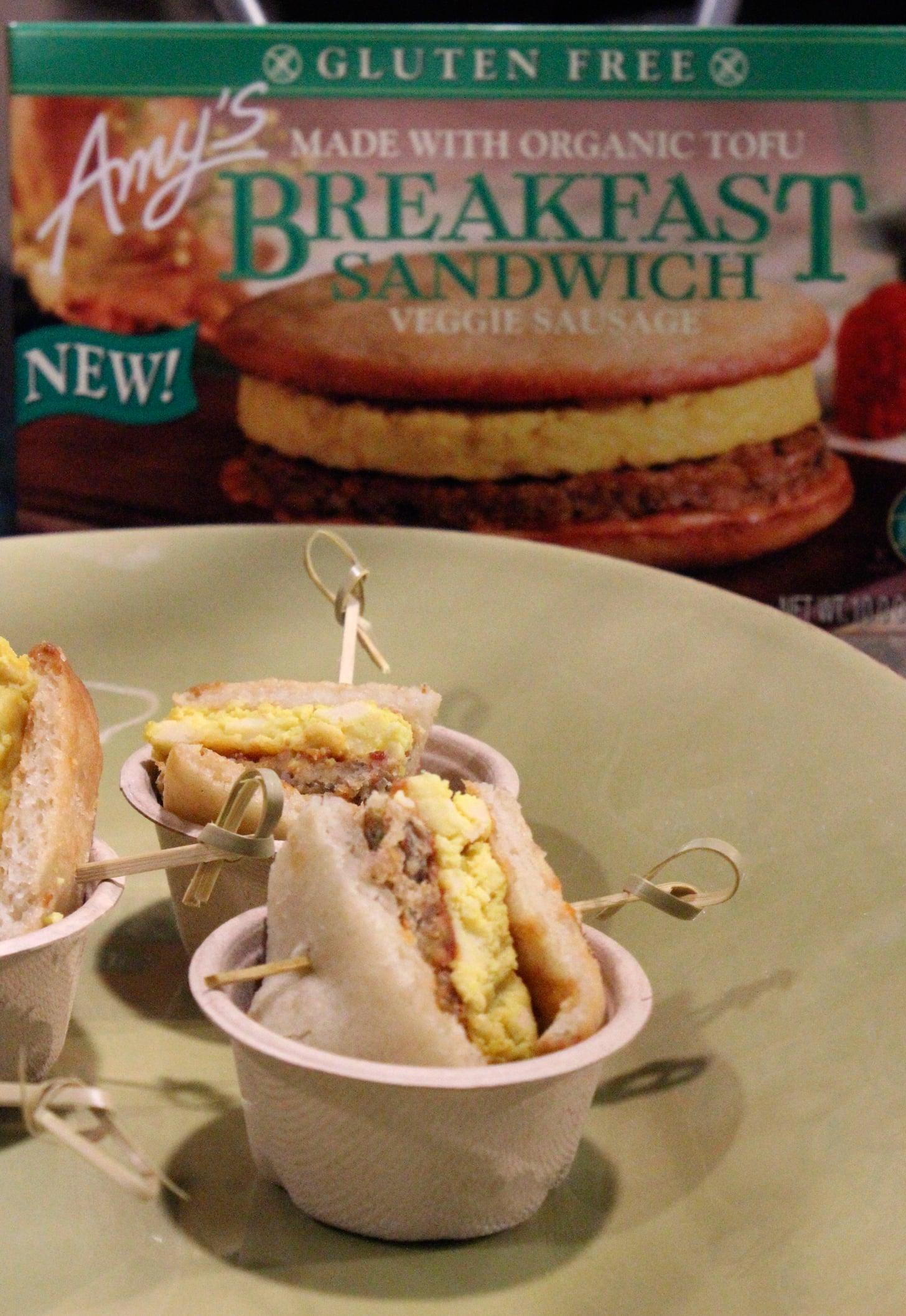Amy's Breakfast Sandwich