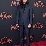 Jason Scott Lee at the World Premiere of Mulan in LA