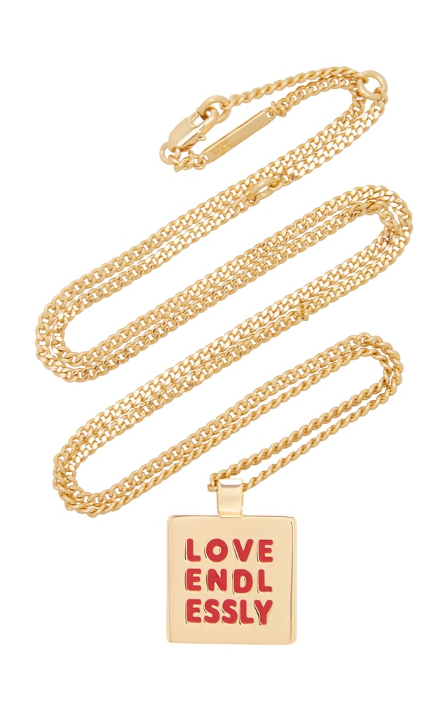 Roxanne Assoulin Love Endlessly Gold-Tone Necklace