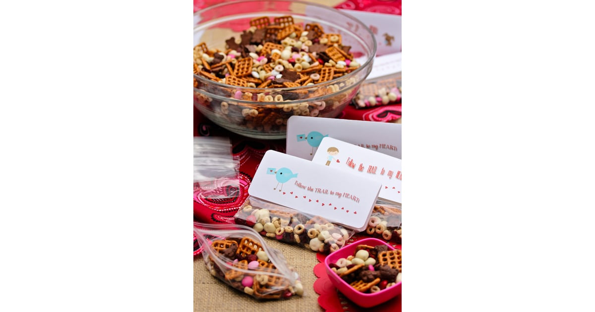 Trail Mix Valentine | DIY Noncandy Printable Valentineu0027s Day Cards For Kids  | POPSUGAR Moms Photo 13