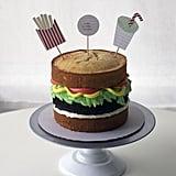 A Burger Cake