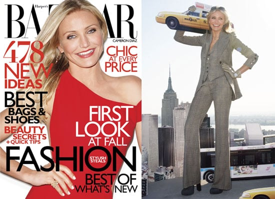Quotes From Knight and Day's Cameron Diaz in Harper's Bazaar 2010-07-08 14:30:38