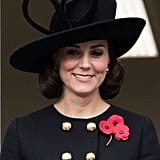 Duchess of Cambridge Hair November 2017