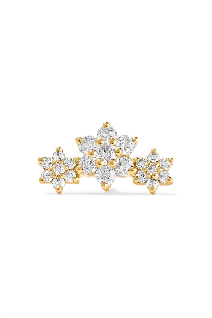 Maria Tash Flower Garland Diamond Earring