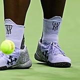 A Closer Look at Serena's Shoes