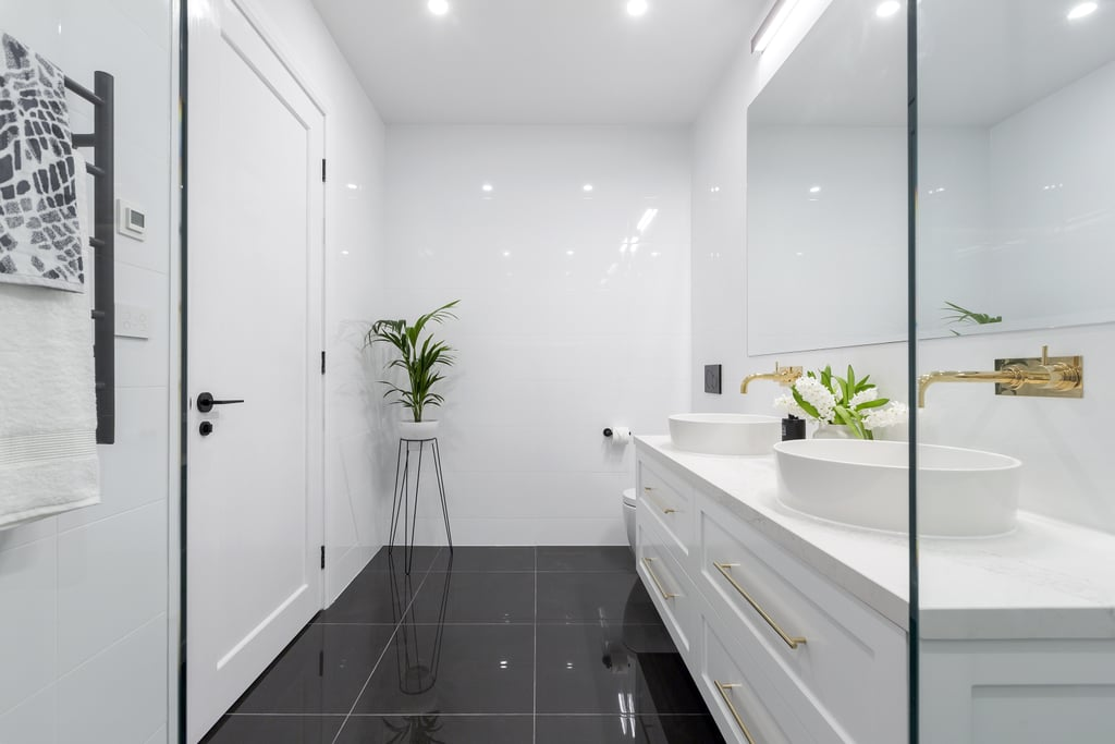 The Bathroom While Family Home Is It Safe To Let A Friend