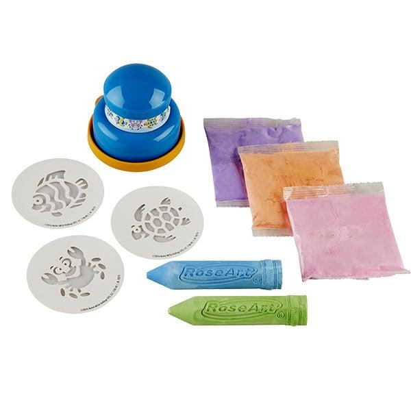 RoseArt Super Chalk Stamper – Sea Life Designs
