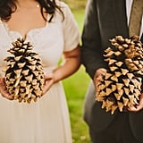 His and Hers Pine Cones