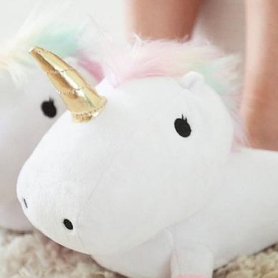 Unicorn Slippers on Amazon