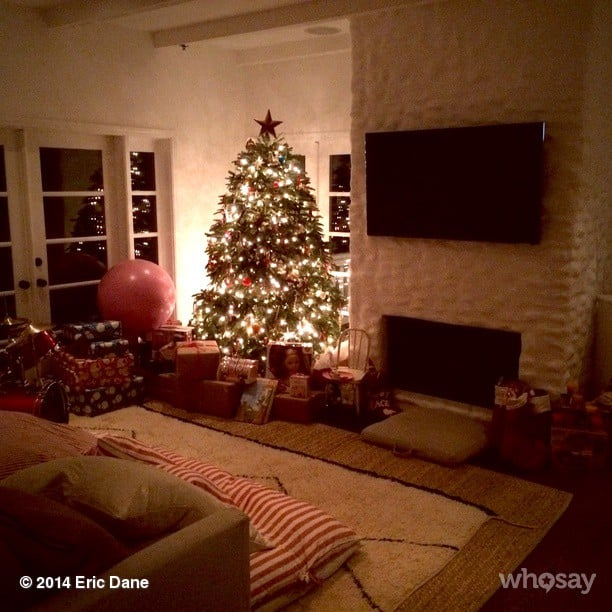 celebrity family christmas pictures 2014 popsugar family - Celebrities Christmas Decorated Homes