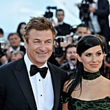 Alec Baldin and his fiancée Hilaria Thomas at the Cannes premiere of Killing Them Softly.