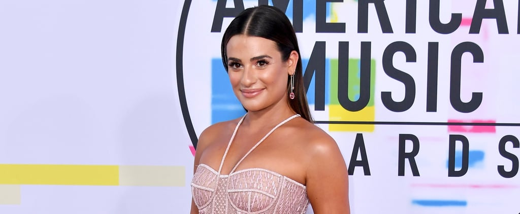 Lea Michele Just Started a Trend at the AMAs With Mismatched Earrings