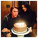 The family celebrated Kim's BFF Jonathan Cheban's birthday on their vacation.