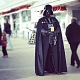 """I guarantee I will not be adding mouse ears anytime soon. #charityscifi #StarWars #darthvader #darkside #sith #jedi #empire #grandpier #westonsupermare #disney #picoftheday #bestoftheday #dalek #doctorwho #exterminate #lucasfilm #skywalker #hashtagabuse"" — rex_banner_ Source: Instagram user rex_banner_"