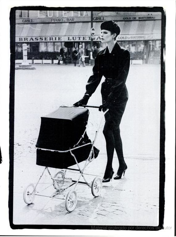 August 1982: Paris Headlines by Peter Lindbergh