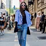 To ground a layered look