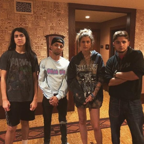 Paris Jackson Instagram Photo With Blanket and Prince 2017