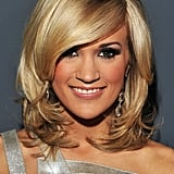 Carrie Underwood's Layered Bob in 2010