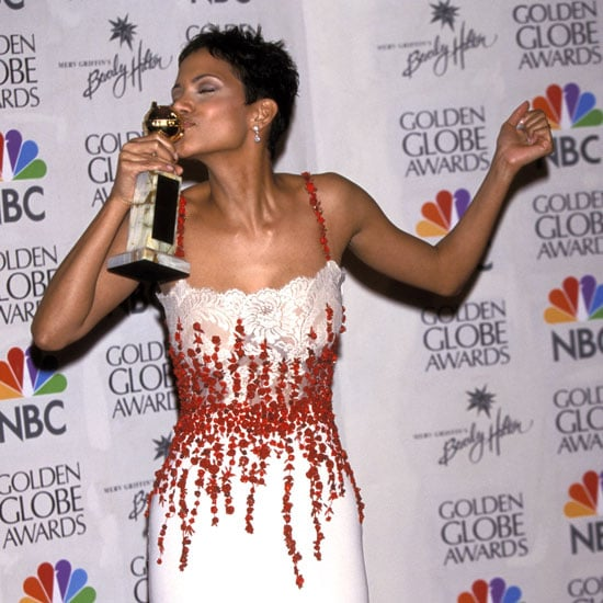 While Halle Berry kissed her statue for Introducing Dorothy Dandridge that same year.