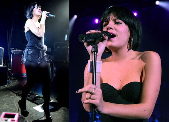 Photos of Lily Allen Performing at Shepherd's Bush Empire
