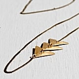 AK Vintage Mountain Path Necklace, $115