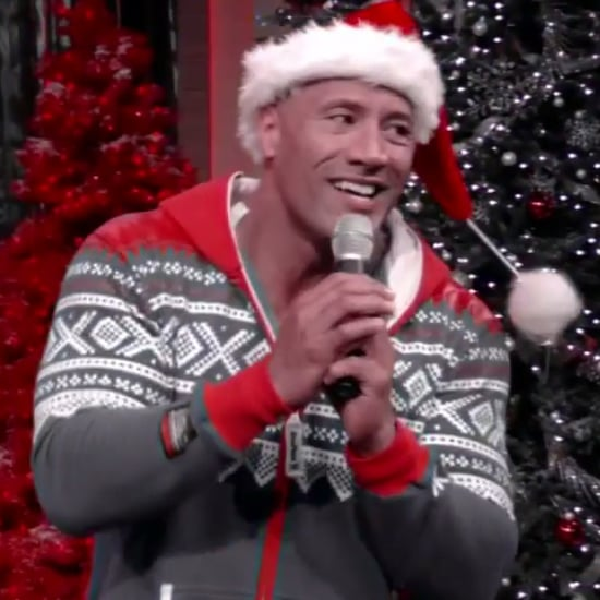 "Dwayne ""The Rock"" Johnson Singing Karaoke in a Onesie"