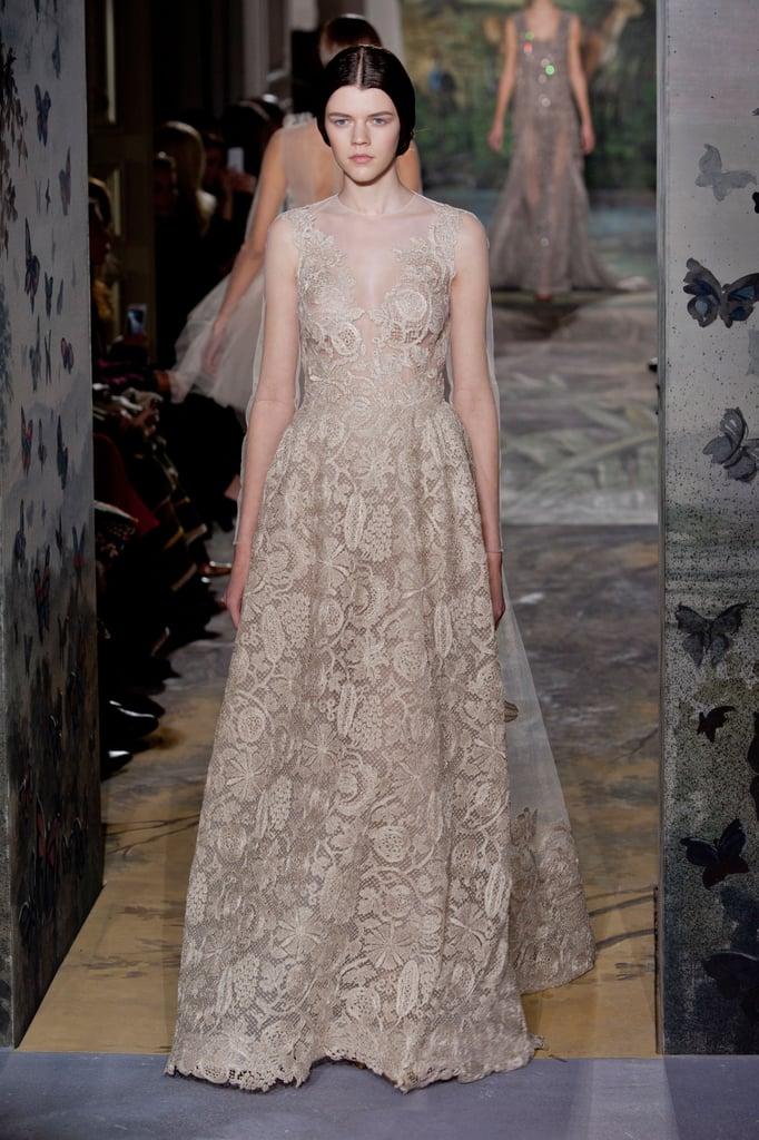 Valentino Haute Couture Spring 2014 Wedding Dresses At Paris Haute
