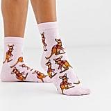 ASOS Design Holidays Kangaroo Ankle Socks