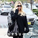 Jessica Simpson stopped for lunch in LA.