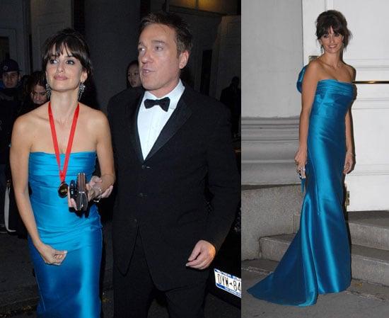 Penelope Cruz Is All Tied Up in Blue